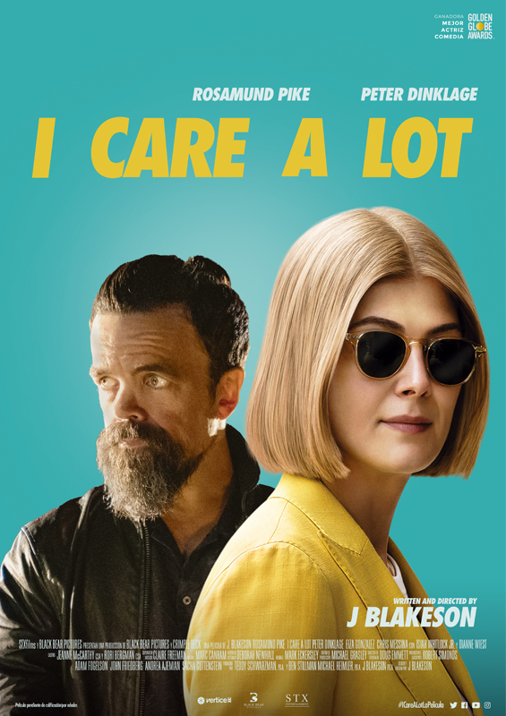Póster I Care A Lot
